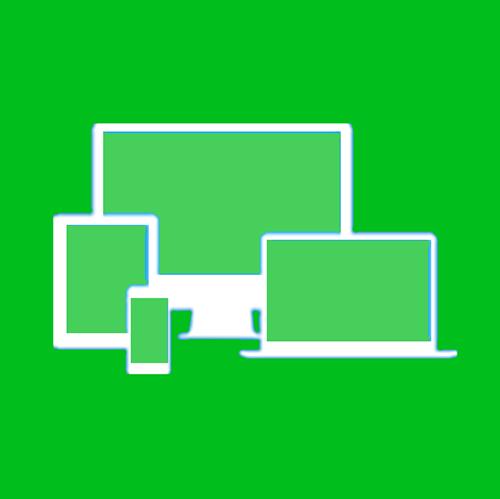 Responsive web design icon image